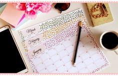 Calender and To-Do-List Freebies
