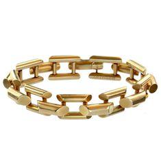 Erie Basin - 1940s Tiffany & Co Bracelet, 14K Yellow Gold