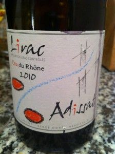 Adissat Lirac, Wine of the Week November 7, 2013, www.eatsomethingsexy.com