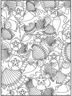 Undersea Coloring Pages - AZ Coloring Pages