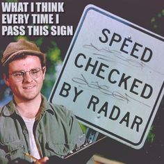 M*A*S*H* The 4077th - Speed Checked By Radar