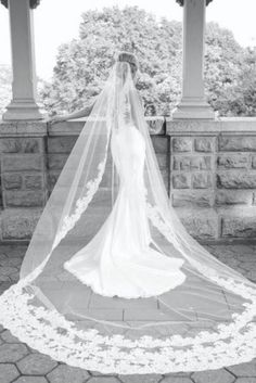 I'm not much of a veil person, but this is stunning!