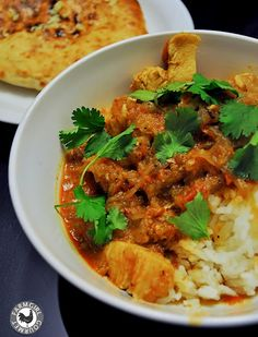 Malabar Chicken Curry with Homemade Garam Masala