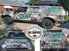 Slick commercial wrap done with 3M IJ180Cv3 & 8519. Thanks RAC Graphixs, racxtremegraphixs.com