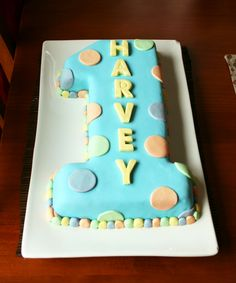 First+Birthday+Cake+Ideas+For+Boys | WallFry - Wall Art for Small Fry: Cake fit for a One year old
