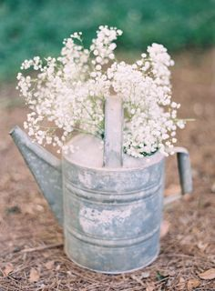 Elegant black tie wedding ~ Odalys Mendez Photography - Baby's breath gysophelia in a can