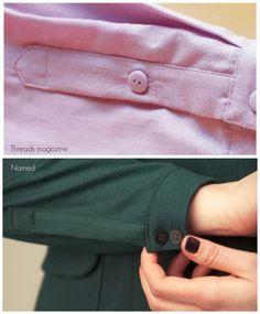 How to Sew a Sleeve Placket // House of Pinheiro