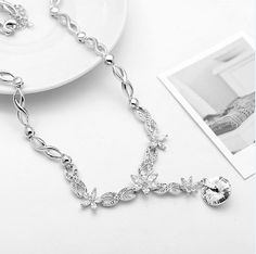 Wonderful  Cubic Zirconia- Necklace