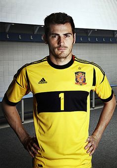 Iker Casillas! Goalie for Spain's National Fútbol (Soccer) team :) he's such a good player!
