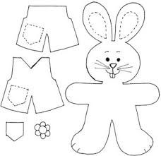Resultado de imagem para desenhos para colorir coelho