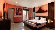 Amici Miei Hotel Patong Beach Patong Beach's Amici Miei Hotel offers value-for-money accomodation with free Wi-Fi, less than 200 metre from Jungceylon Shopping Centre and the Thai Boxing Stadium.  Hotel Amici Miei is 200 metres from nightlife options at Bangla Road.