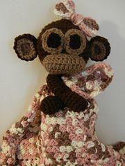Ravelry: Sweet Monkey Lovey pattern by Gramma Beans $4.50