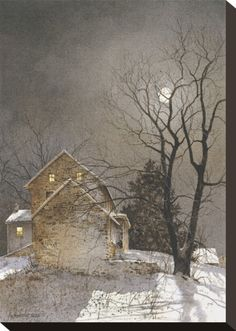 Working Late by Ray Hendershot at Art.com