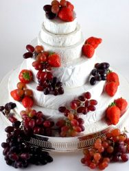 Cheese Wedding Cake or Tower to feed 85-125 Antonia