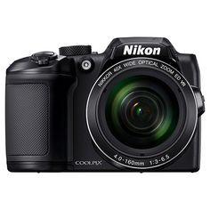 Nikon COOLPIX B500 16MP Digital Camera with 40x Optical Zoom - Black : Target