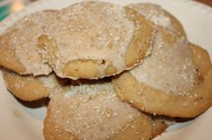 White Chocolate Eggnog Cookies for The Great Food Blogger Cookie Swap