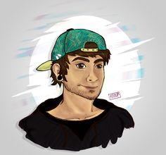 .:: libertad absoulta ::.  #Bestfriend #illustration #digital #HelioBrand #love #colors #boy #KOULEUR