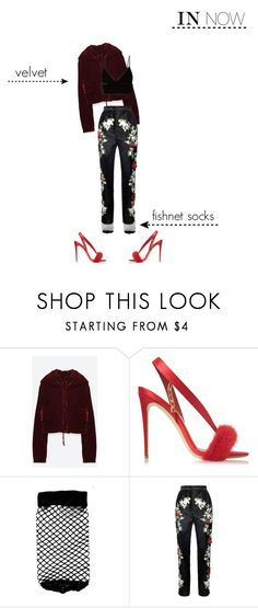 """""""saturday night live"""" by arcangela00 ❤ liked on Polyvore featuring Olgana, ASOS, Dolce&Gabbana and T By Alexander Wang"""