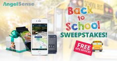 Get ready for the new school year! Win a FREE AngelSense GPS devices and a year of full service! With AngelSense you can keep your entire family safe and get peace of mind.