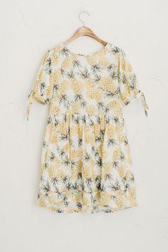 Pineapple Dress, Yellow