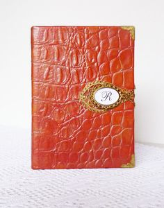 Personalized Leather Journal Writing Diary by AnnaKisArt on Etsy