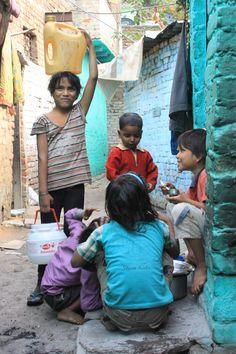 Slum Life for India's kids...
