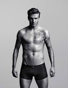 David Beckham <33 Love tattoos!