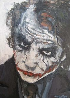Why So Serious by chris hill | ArtWanted.com