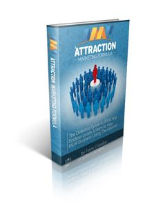Attraction Marketing Formula is an in-depth step by step manual on the art of Attraction Marketing.   If you want to learn how to sponsor more people into your business and build a large customer base then you want to invest in this book.  It will give you step-by-step instructions on how to ATTRACT prospects & customers to your business!