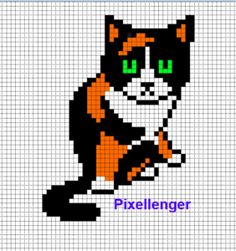 Pix Art, Minecraft Pixel Art, 8 Bit, Art Drawings, Projects To Try, Cross Stitch, Embroidery, Crafts, Fictional Characters