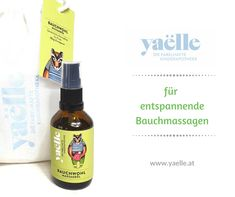 Massageöl für Kinder. Vegan. Natürlich. Yaelle. Whiskey Bottle, Vegan, Drinks, Fitness, Running Away, Healthy Food, Insomnia, Abdominal Pain, Immune System