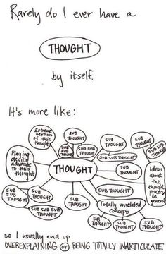 Thoughts! PTSD anxiety