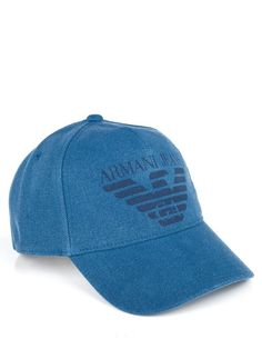 Armani Jeans Blue Logo Cap Gorras 35464f1e1c9