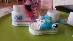 Converse knitting para los hijos de Grecia!!!