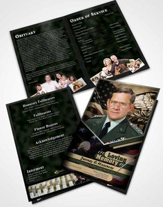 Free Funeral Program Templates  Category Church  Flyers  Print