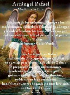 San Rafael: medicina de Dios. Protector de los enfermos
