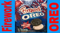 WHAT Firework Oreo With Popping Candy