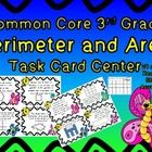 This is a fun little set of spring themed task cards. These cards are designed to meet Third grade common core standards in Perimeter and Area. Inc...