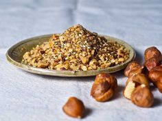 DIY Hazelnut Dukka: serve this spice mix with pieces of warm pita, dipped in oil and sprinkled with the dukka. Or atop sandwiches or sprinkled over roast vegetables