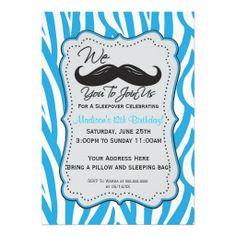 >>>Hello          Blue Zebra Mustache Sleepover Party! Personalized Announcement           Blue Zebra Mustache Sleepover Party! Personalized Announcement lowest price for you. In addition you can compare price with another store and read helpful reviews. BuyThis Deals          Blue Zebra Mu...Cleck Hot Deals >>> http://www.zazzle.com/blue_zebra_mustache_sleepover_party_invitation-161361773286397871?rf=238627982471231924&zbar=1&tc=terrest