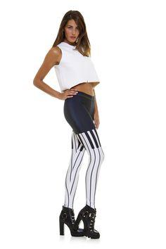 Leggings diseño exclusivo fabricado en España Modelo PIANO www.legx.es