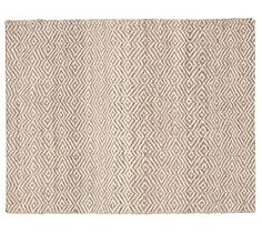 Clark Two Tone Soft Jute Rug #potterybarn