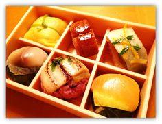 beautiful sushi - Nara, Japan *photo by afs