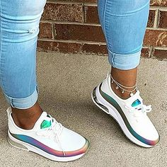 Tenis Casual, Casual Sneakers, Sneakers Fashion, Casual Shoes, Casual Clothes, Women's Sneakers, Sneakers Women, Athletic Women, Athletic Shoes