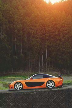 Tokyo drift orange rx7 rep