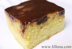 boston cream poke cake by edith