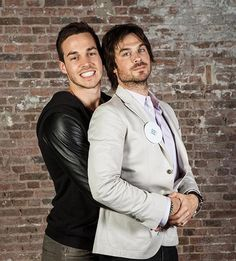 Ian Somerhalder and Chris Wood OML PERFECTION