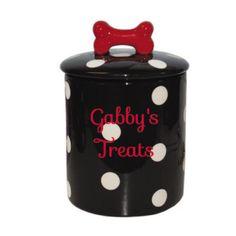 DOG TREAT JAR Need this for Daisy!
