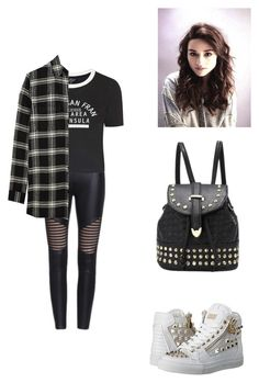 """""""I don't need you."""" by you-are-pretty-amazing ❤ liked on Polyvore featuring Topshop, Madewell, Philipp Plein, women's clothing, women, female, woman, misses and juniors"""