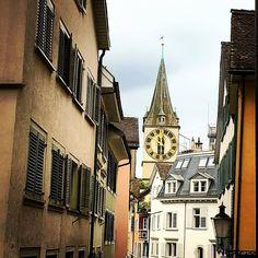 Iglesia en Zurich, Suiza